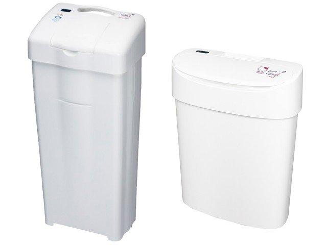 サニッコ:使用済み生理用品を衛生的に投棄・保管するための抗菌・防臭式生理用ボックス